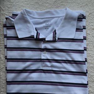 Men's 3 button collar polo shirt sleeve
